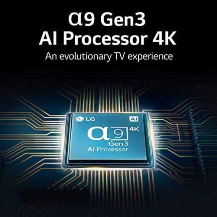 "LG OLED65CXPUA / OLED65CXAUA Alexa Built-In CX Series 65"" 4K Ultra HD Smart OLED TV (2020) (Renewed) 5"