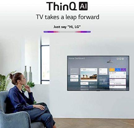 "LG OLED55GXPUA Alexa Built-In GX Series 55"" Gallery Design 4K Smart OLED TV (2020) (Renewed) 7"