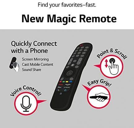 "LG LED Smart TV 65"" Slim Real 4k UHD NanoCell TV (3840 x 2160), 60Hz Refresh Rate, 4K Cinema, Apps Enabled, Gaming Mode, Google/Alexa - 2021 12"
