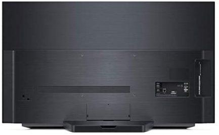 LG OLED48C1PUB 48 Inch 4K Smart OLED TV (2021 Model) Bundle with Deco Home 60W 2.0 Channel Soundbar, 37-70 inch TV Wall Mount Bracket Bundle and 6-Outlet Surge Adapter 6