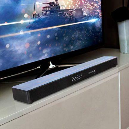 "LG OLED77CXPUA 77"" CX 4K OLED TV w/AI ThinQ (2020) with Deco Gear Soundbar Bundle 3"