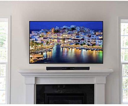 "LG OLED77CXPUA 77"" CX 4K OLED TV w/AI ThinQ (2020) with Deco Gear Soundbar Bundle 4"