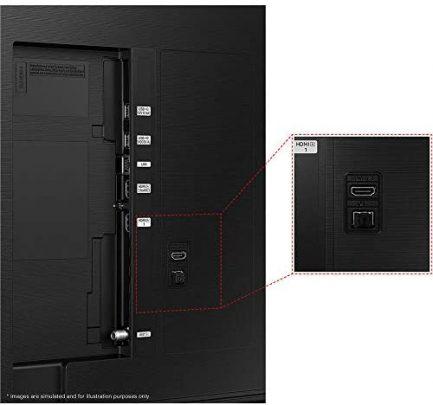 SAMSUNG 43-Inch Class QLED Q60A Series - 4K UHD Dual LED Quantum HDR Smart TV with Alexa Built-in (QN43Q60AAFXZA, 2021 Model) 4