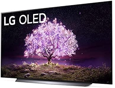 LG OLED77C1PUB C1 77 inch OLED TV 4K Smart TV w/AI ThinQ Bundle with Yamaha YAS109 Soundbar, Universal Wall Mount, HDMI Cable - LG Authorized Dealer 2