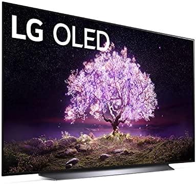 LG OLED77C1PUB C1 77 inch OLED TV 4K Smart TV w/AI ThinQ Bundle with Yamaha YAS109 Soundbar, Universal Wall Mount, HDMI Cable - LG Authorized Dealer 5