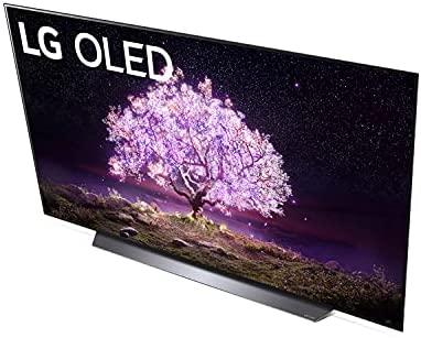LG OLED77C1PUB C1 77 inch OLED TV 4K Smart TV w/AI ThinQ Bundle with Yamaha YAS109 Soundbar, Universal Wall Mount, HDMI Cable - LG Authorized Dealer 7