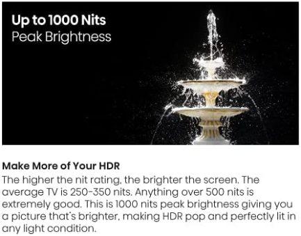 Hisense ULED Premium 65-Inch U7G Quantum Dot QLED Series Android 4K Smart TV with Alexa Compatibility (65U7G, 2021 Model) 6