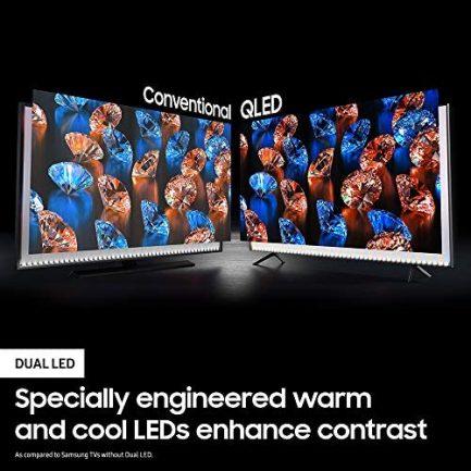 SAMSUNG 75-inch Class QLED Q60T Series - 4K UHD Dual LED Quantum HDR Smart TV with Alexa Built-in (QN75Q60TAFXZA, 2020 Model) 3