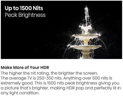 Hisense ULED Premium 55-Inch Class U8G Quantum Series Android 4K Smart TV with Alexa Compatibility (55U8G, 2021 Model) 7