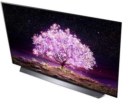 LG OLED48C1PUB 48 Inch 4K Smart OLED TV 2021 Model Bundle with LG SN5Y 2.1 Channel Hi-Res Audio Sound Bar with DTS Virtual:X and Taskrabbit Installation Service 3