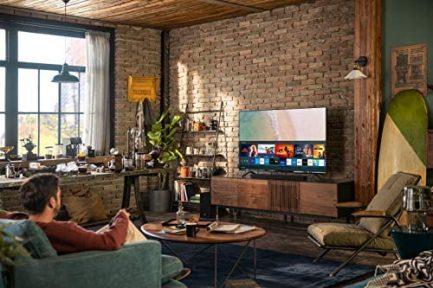 SAMSUNG 82-Inch Class Crystal UHD TU7000 Series- 4K UHD HDR Smart TV with Alexa Built -in (UN82TU7000FXZA, 2020 Model) 4