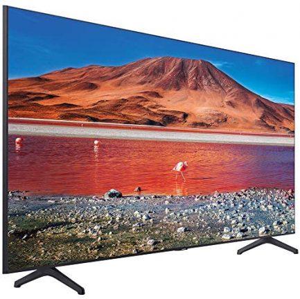"""SAMSUNG UN65TU7000 65"""" 4K Ultra HD Smart LED TV (2020) with Deco Gear Soundbar Bundle 3"""