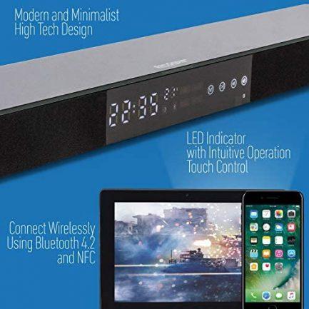 """SAMSUNG UN65TU7000 65"""" 4K Ultra HD Smart LED TV (2020) with Deco Gear Soundbar Bundle 8"""