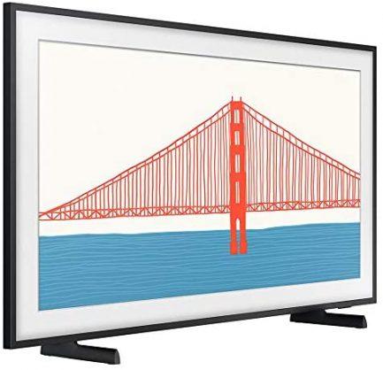 Samsung QN43LS03AAFXZA 43 Inch The Frame QLED 4K Smart TV 2021 Bundle with Samsung 2021 43 inch The Frame Customizable Bezel Modern Brown 3