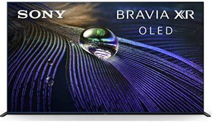 "Sony XR65A90J 65-inch OLED 4K HDR Ultra Smart TV (2021 Model) Bundle with Deco Home 60W 2.0 Channel Soundbar, 37""-100"" TV Wall Mount Bracket Bundle and 6-Outlet Surge Adapter 3"