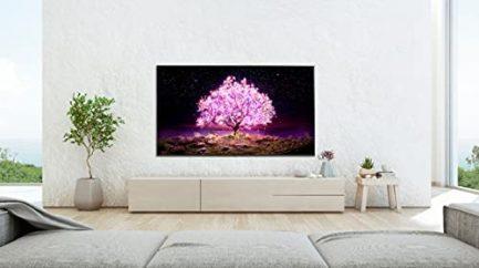 LG OLED83C1PUA C1 83 inch OLED TV 4K Smart TV w/AI ThinQ Bundle with Yamaha YAS109 Soundbar, Universal Wall Mount, HDMI Cable - LG Authorized Dealer 7