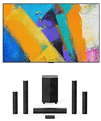 "LG OLED65GXP 65"" OLED Gallery Design Smart 4K Ultra High Definition Smart TV with Enclave EA-1000-THX-US CineHome Pro CineHub Edition 5.1Ch Speakers (2020) 1"