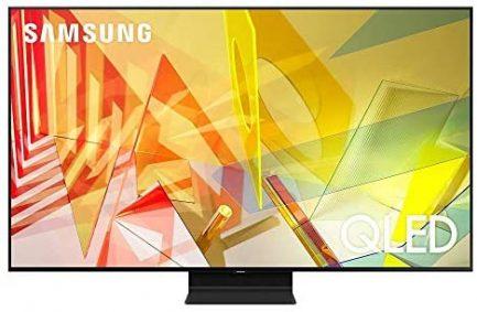 SAMSUNG 65-inch Class QLED Q90T Series - 4K UHD Direct Full Array 16X Quantum HDR 16X Smart TV with Alexa Built-in (QN65Q90TAFXZA, 2020 Model) (Renewed) 1