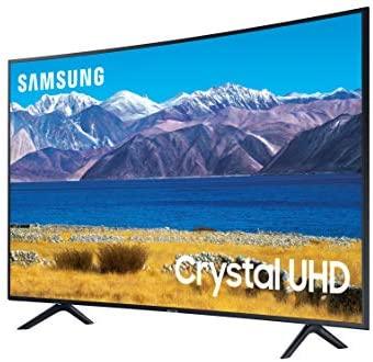 SAMSUNG 55-inch Class Curved UHD TU-8300 Series - 4K UHD HDR Smart TV With Alexa Built-in (UN55TU8300FXZA, 2020 Model) 2