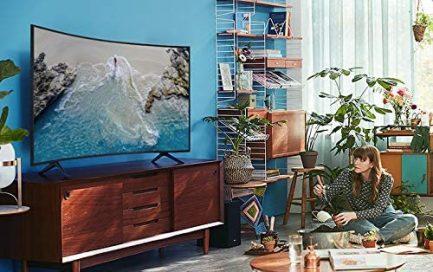 SAMSUNG 55-inch Class Curved UHD TU-8300 Series - 4K UHD HDR Smart TV With Alexa Built-in (UN55TU8300FXZA, 2020 Model) 6