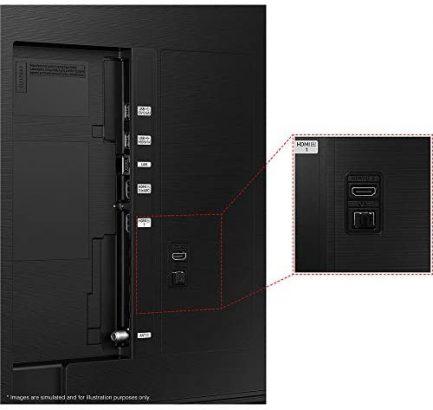 Samsung QN65Q60AAFXZA 65 Inch QLED 4K Smart TV 2021 Bundle with TaskRabbit Installation Services + Deco Gear Wall Mount + HDMI Cables + Surge Adapter 4