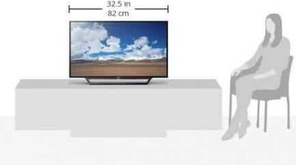 Sony 32-inch 720p Smart LED TV (KDL32W600D, 2016 Model) 9