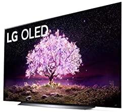 LG OLED83C1PUA C1 83 inch OLED TV 4K Smart TV w/AI ThinQ Bundle with Yamaha YAS109 Soundbar, Universal Wall Mount, HDMI Cable - LG Authorized Dealer 2