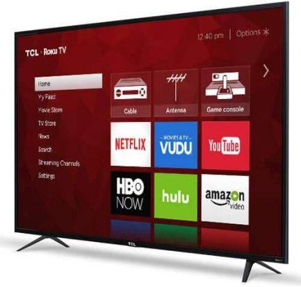 "TCL 65"" Class 4K (2160P) Roku Smart LED TV (65S401) 2"