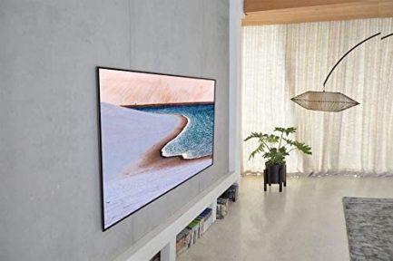 "LG OLED Smart TV 65"" Gallery Thin Frame 4K TV (3840 x 2160), AI-Powered 4K, 120Hz Refresh Rate, Dolby Cinema, Sports Alerts, PC Gaming, Google/Alexa - 2020 7"