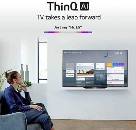 "LG OLED55BXPUA Alexa Built-In BX 55"" 4K Smart OLED TV (2020) (Renewed) 5"