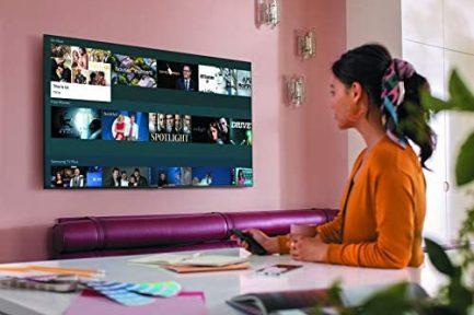 SAMSUNG 43-inch Class QLED Q60T Series - 4K UHD Dual LED Quantum HDR Smart TV with Alexa Built-in (QN43Q60TAFXZA, 2020 Model) 4