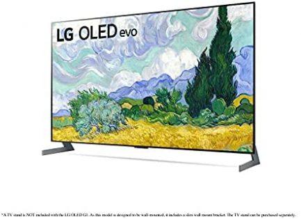 "LG OLED55G1PUA Alexa Built-in G1 Series 55"" Gallery Design 4K Smart OLED evo TV (2021) 8"