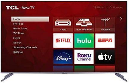 TCL 50-inch 5-Series 4K UHD Dolby Vision HDR QLED Roku Smart TV - 50S535, 2021 Model , Black 2