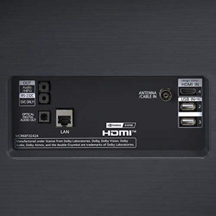 LG OLED77C1PUB C1 77 inch OLED TV 4K Smart TV w/AI ThinQ Bundle with Yamaha YAS109 Soundbar, Universal Wall Mount, HDMI Cable - LG Authorized Dealer 8