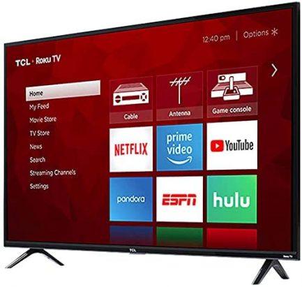 """TCL 55S423 55"""" Class (54.6"""" Diag) 4K UHD Roku LED LCD 2"""