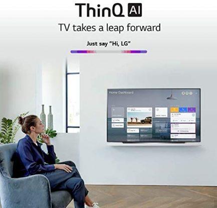 "LG OLED65CXPUA / OLED65CXAUA Alexa Built-In CX Series 65"" 4K Ultra HD Smart OLED TV (2020) (Renewed) 6"
