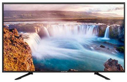 "Sceptre 65"" 4K Ultra HD 2160p LED 4X HDMI 2.0 HDTV 3840x2160, Metal Black 2018 5"