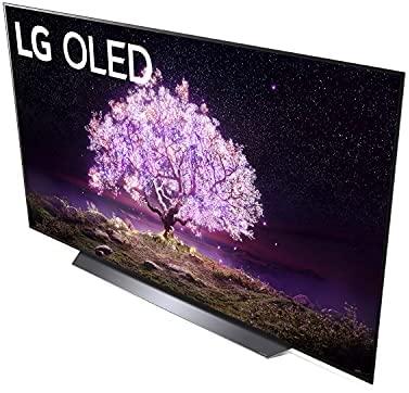 LG OLED83C1PUA C1 83 inch OLED TV 4K Smart TV w/AI ThinQ Bundle with Yamaha YAS109 Soundbar, Universal Wall Mount, HDMI Cable - LG Authorized Dealer 4