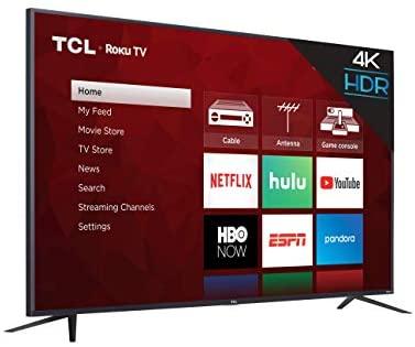 TCL 65S425 65 Inch 4K UHD HDR Smart Roku TV (2019) 9