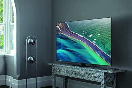 SAMSUNG 85-inch Class QLED Q80T Series - 4K UHD Direct Full Array 12X Quantum HDR 12X Smart TV with Alexa Built-in (QN85Q80TAFXZA, 2020 Model) 4