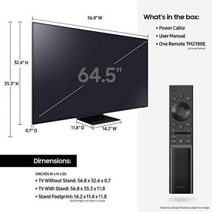 SAMSUNG 65-Inch Class Neo QLED 8K QN800A Series - 8K UHD Quantum HDR 32x Smart TV with Alexa Built-in (QN65QN800AFXZA, 2021 Model) 6