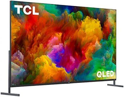 "TCL 85"" Class 4K UHD Dolby Vision HDR QLED Roku Smart TV - 85R745 2"