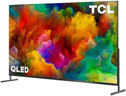 "TCL 85"" Class 4K UHD Dolby Vision HDR QLED Roku Smart TV - 85R745 3"