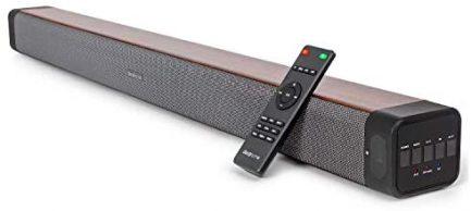Samsung QN65Q60AAFXZA 65 Inch QLED 4K Smart TV 2021 Bundle with Deco Home 60W 2.0 Channel Soundbar, 37-100 inch TV Wall Mount Bracket Bundle and 6-Outlet Surge Adapter 7