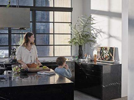 SAMSUNG 32-inch Class FRAME QLED LS03 Series - FHD Dual LED Quantum HDR Smart TV with Alexa Built-in (QN32LS03TBFXZA, 2020 Model) 4
