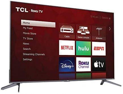 TCL 50-inch 5-Series 4K UHD Dolby Vision HDR QLED Roku Smart TV - 50S535, 2021 Model , Black 14