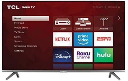 TCL 65-inch 6-Series 4K UHD Dolby Vision HDR QLED Roku Smart TV - 65R635, 2021 Model 2