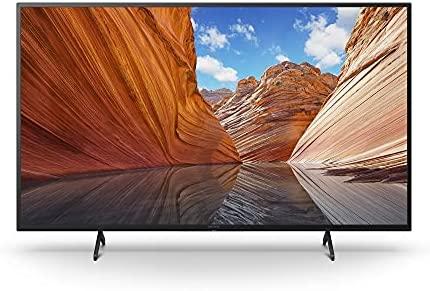 Sony KD43X80J BRAVIA 43-Inch 4K Ultra HD HDR LED Smart TV (2021 Model Year) Home Theater Headphones Bundle (2 Items) 2