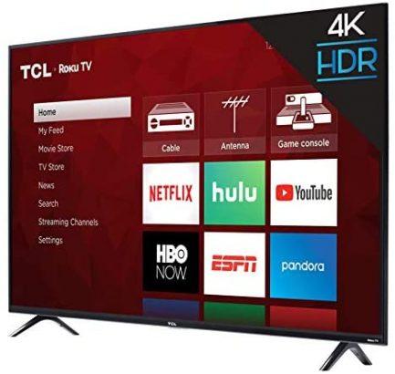 TCL 50S425 50 Inch 4K Smart LED Roku TV (2019) 8
