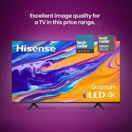 Hisense ULED 4K Premium 55U6G Quantum Dot QLED Series 55-Inch Android Smart TV with Alexa Compatibility (2021 Model) 3